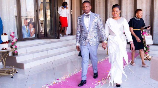 Prophet Shepherd Bushiri Preacher 'millionaire pastor' Bushiri wife Mary multi-million dollar mansion