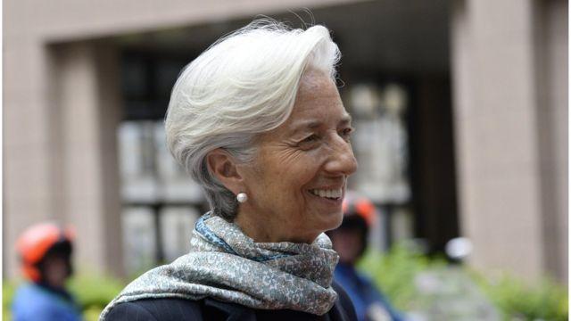 Christine Lagarde, gerente del FMI