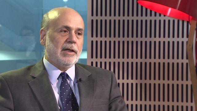 Peston interviews Bernanke