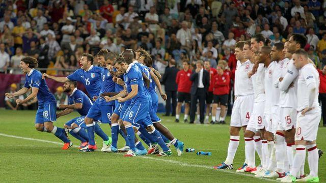 Англія-Італія на Євро-2012