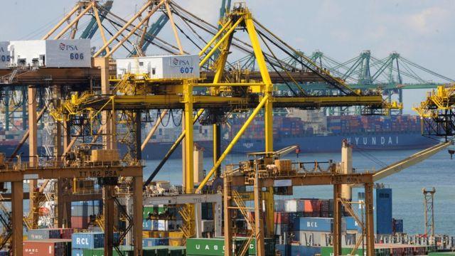 Exportaciones en Singapur
