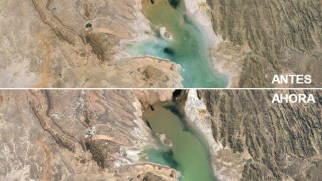 Lago Poopó, Bolivia