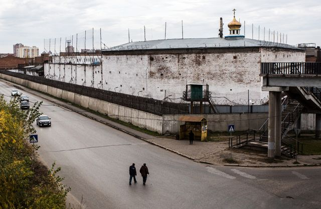 Омск. Исправительная колония строгого режима №6