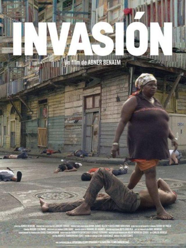 """Cartel promocional del documental """"Invasión"""" de 2014"""