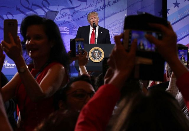 โดนัลด์ ทรัมป์, กำแพงกั้นพรมแดน, สหรัฐฯ, เม็กซิโก, CPAC, การประชุม, คอนเซอร์เวทีฟ