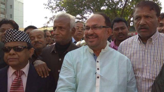 বিএনপি প্রার্থী নজরুল ইসলাম মঞ্জু