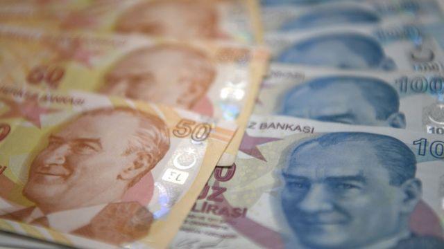 أوراق نقد تركية