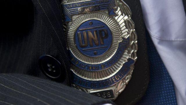 Emblema de la Unidad Nacional de Protección