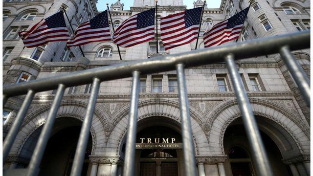 Un hotel de Trump en Washington