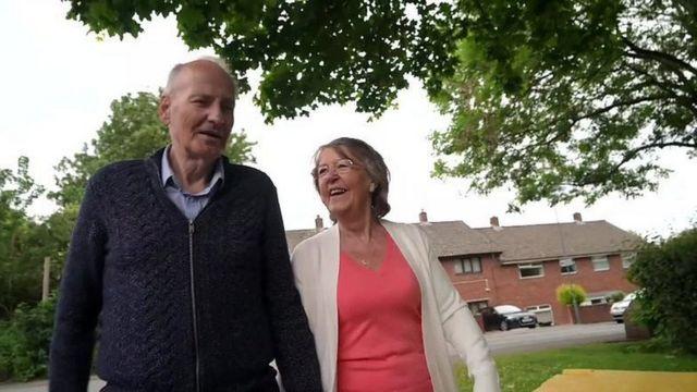 Dave Smith y su esposa Lyn
