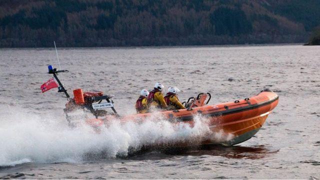 Спасательный катер на озере Лох-Несс не сможет помочь всем в случае многочисленных инцидентов