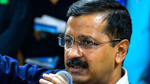 দিল্লির মুখ্যমন্ত্রী অরবিন্দ কেজরিওয়াল।