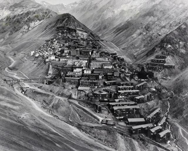 Sewell, Chile, en 1961.