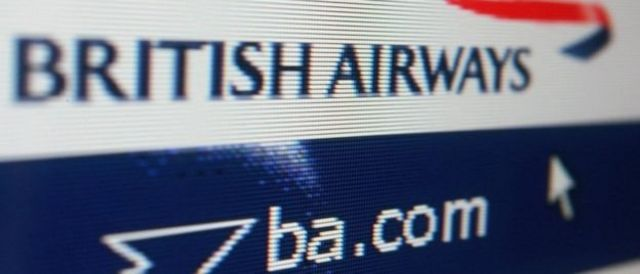 BA said people who booked via its website and app have been affected