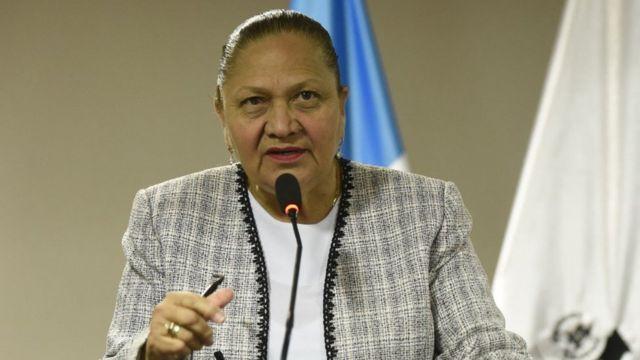 Fiscal general de Guatemala, Consuelo Porras
