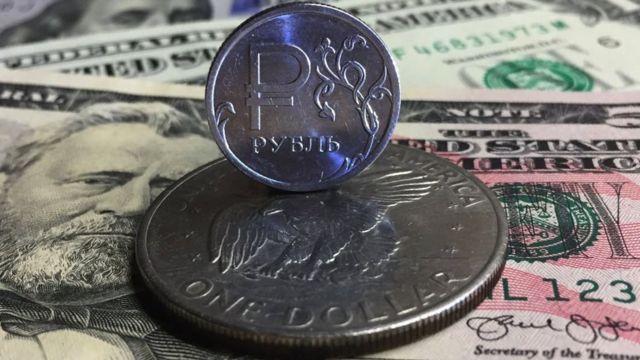 рубль і долар