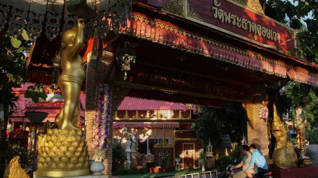 Wat Phra That Doi Wao - Ekapol'ün çalıştığı tapınak