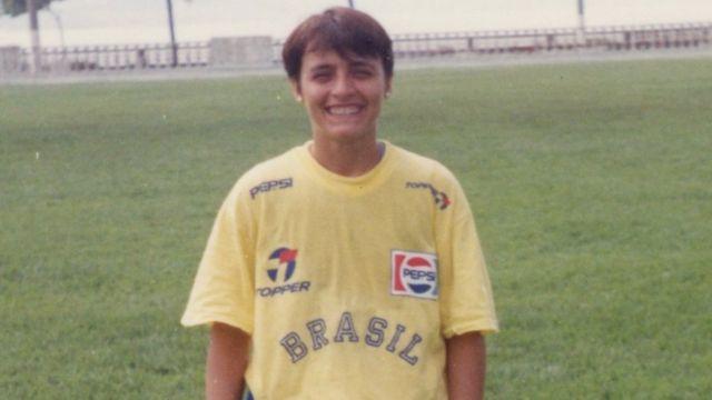 Suzana Cavalheiro em 1991