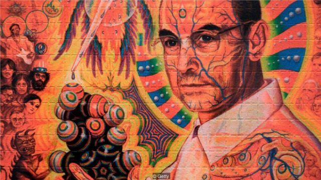 瑞士化學家霍夫曼的畫像。1943年,霍夫曼偶然發現了LSD的致幻性。