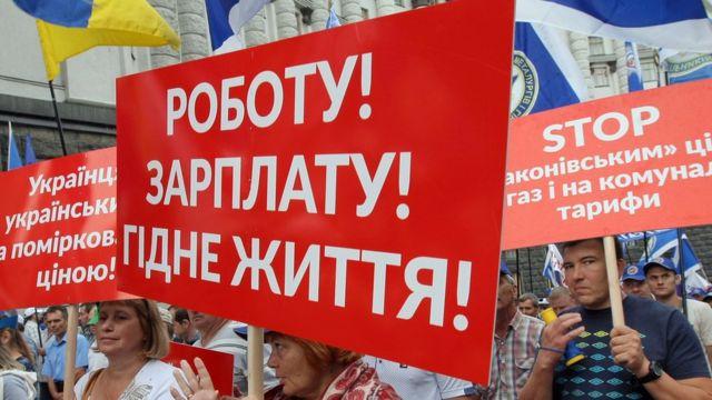 Ukraynada iqtisadi vəziyyət