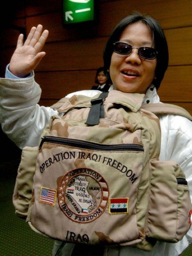 Militar filipina en el ejército de EE.UU.