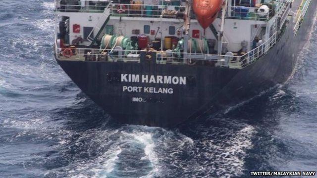 Malaysian Navy frees hijacked oil tanker Orkim Harmony