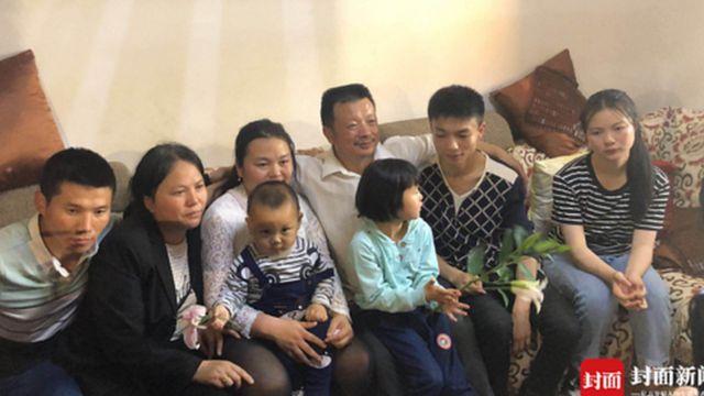 Kang Ying, Wang Mingqing y el resto de la familia