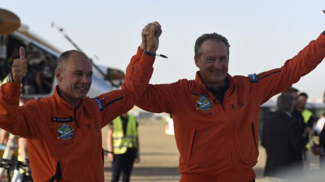 Solar Impulse completes Atlantic crossing with landing in Seville