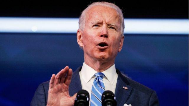 Joe Biden, 14 January 2021