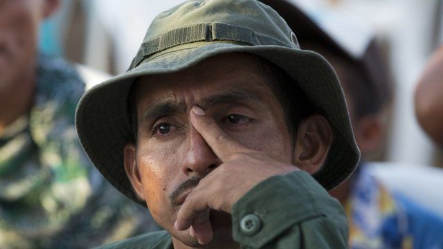 Farc rebels spent five decades fighting Colombia's security forces