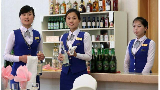 금강산 호텔 직원