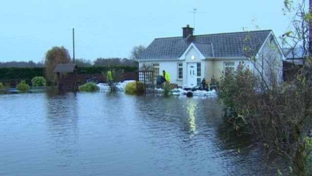 The flooding has impacted on many homes in Northern Ireland, as Conor Macauley reports.