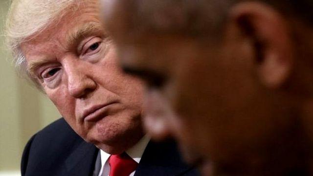 ٹرمپ اوباما