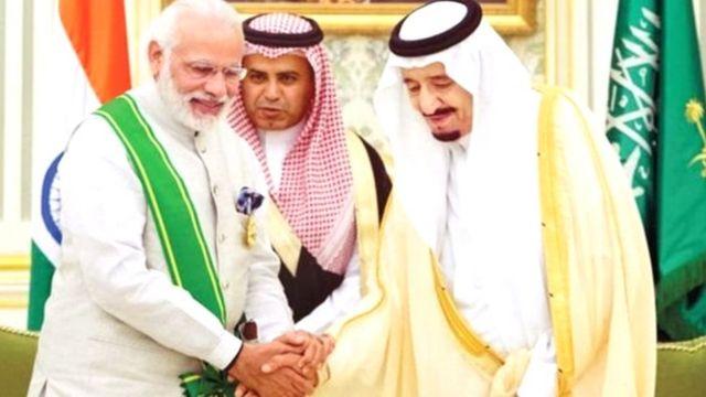 भारताचे आणि सौदी अरबचे संबध फार जुने आहेत.