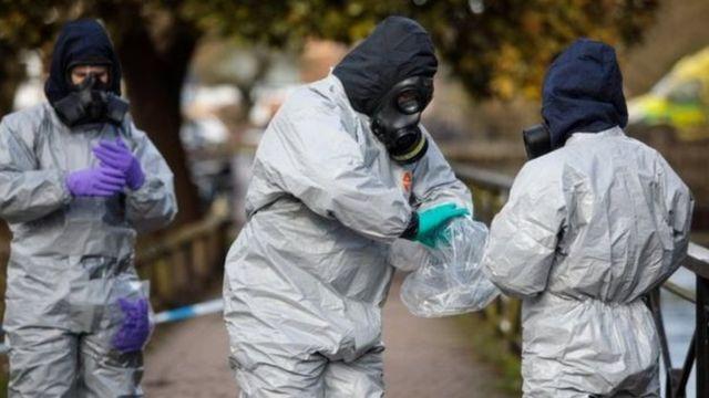 خبراء أسلحة كيميائية