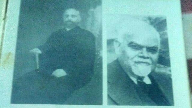 श्यामजी कृष्ण वर्मा (तस्वीर में बाईं ओर) से मैडम कामा को प्रेरणा मिली