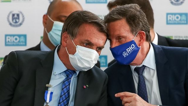 Bolsonaro e Crivella