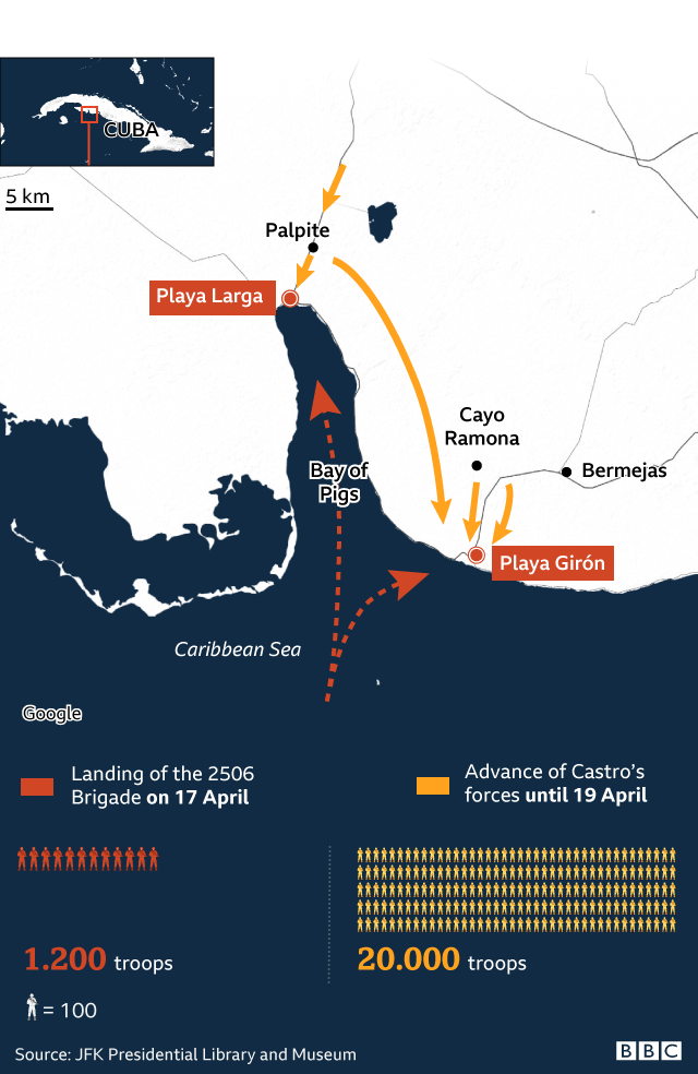 Infographic showing 16 April landing