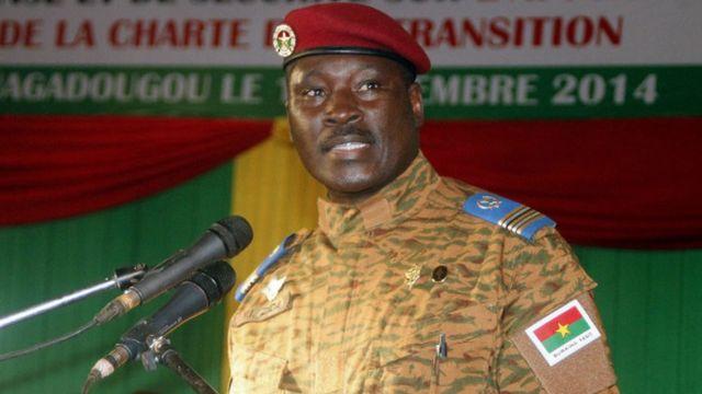 Yacouba Isaac Zida, Burkina Faso