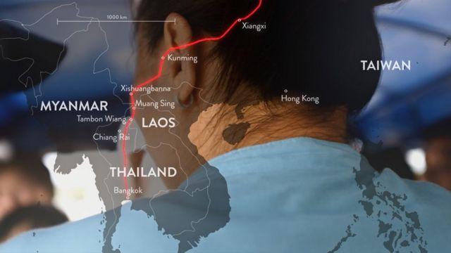 (캡션) 마담B는 자신이 탈북하기 전 중국에서 브로커로 활동하며 50여 명을 한국으로 보내는 일을 했다