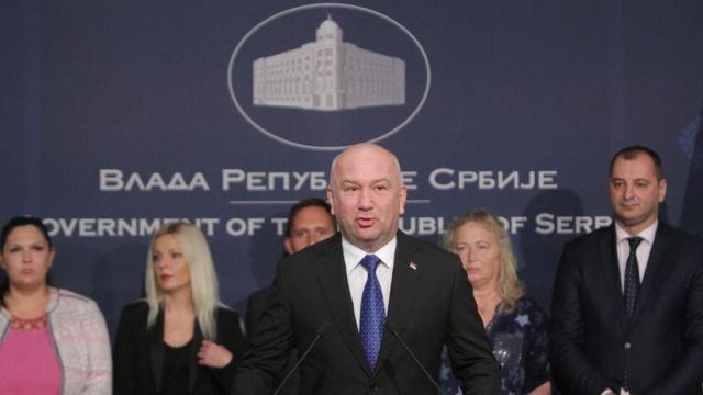Ministar bez portfelja zadužen za inovacije Nenad Popović