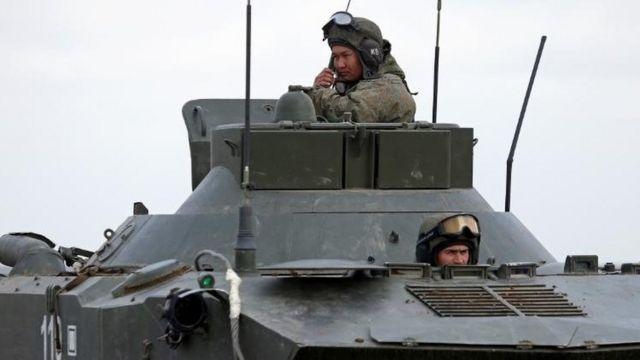 Kırım'daki Rus askerleri