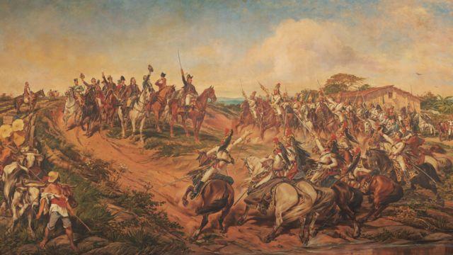Independência ou Morte, quadro que representa a Independência do Brasil