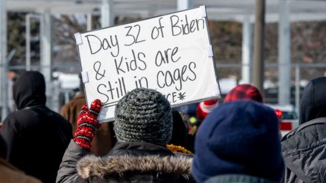 biden protests