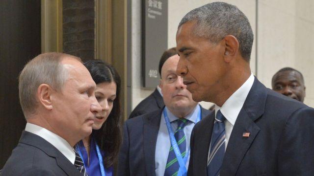 Putin və Obama Çində