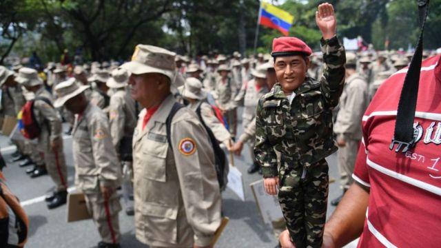 Muñeco de Chávez