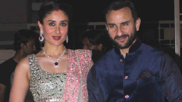 کرینہ کپور اور سیف علی خان