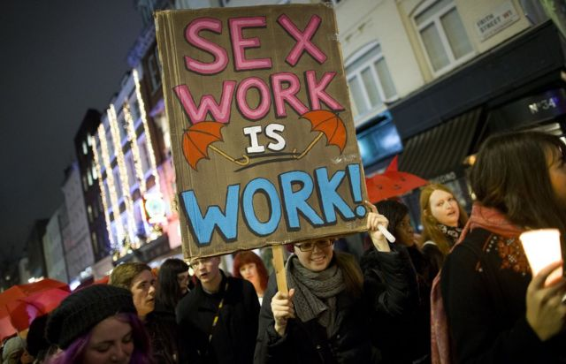 El Colectivo Inglés de Prostitutas