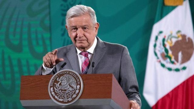 El presidente Andrés Manuel López Obrador este lunes 3 de mayo