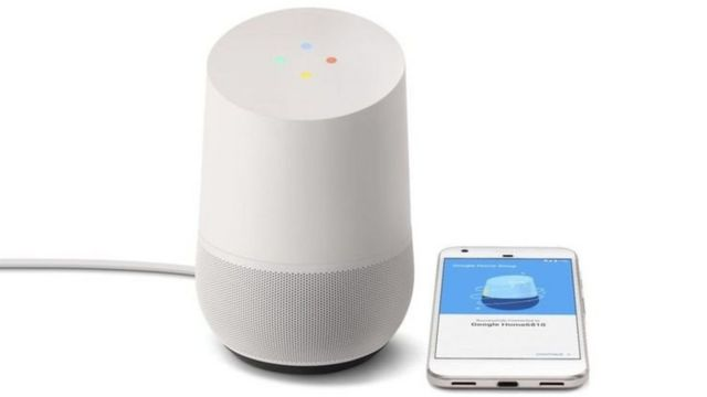 गूगल का नया वॉयस-एक्टिवेटेड स्पीकर, होम. इसे केवल आवाज से भी कंट्रोल किया जा सकेगा.